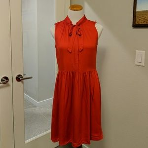 Red Coral Dress by Hi There from Karen Walker